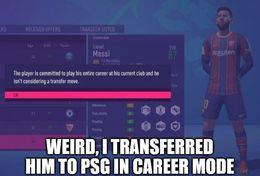 Career mode funny memes